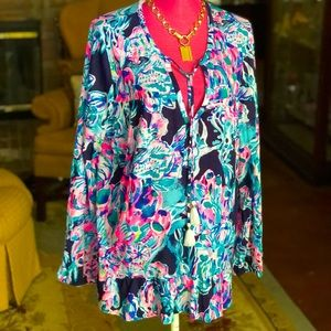 Lilly Pulitzer NEW Chic Tunic XL